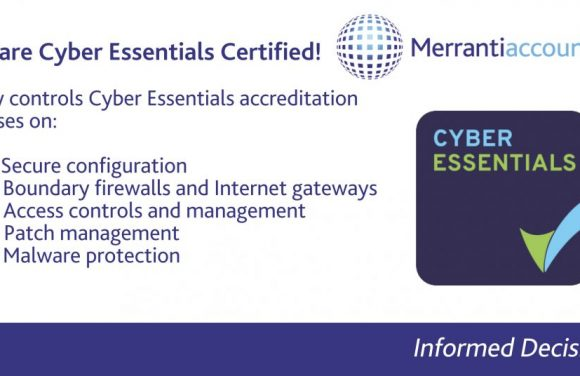 Merranti Accounting - Cyber Essentials Certified