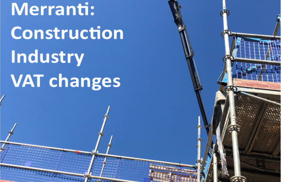 Construction Industry VAT changes