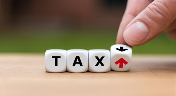 Tax up or down accounting