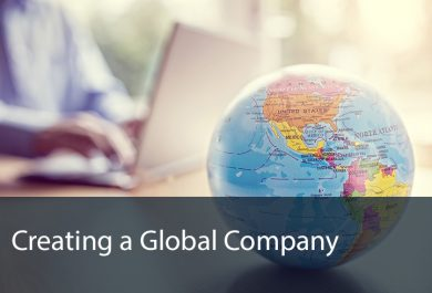 Creating a Global Company - David Tewkesbury Case Study - Business Consultant