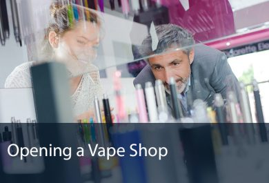Opening a Vape Shop - David Tewkesbury Case Study - Merranti Consulting